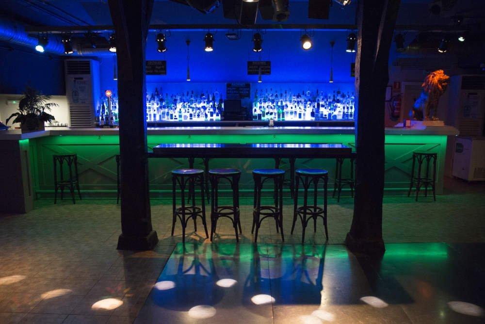 Barra interior Discoteca Safari - Castro Urdiales