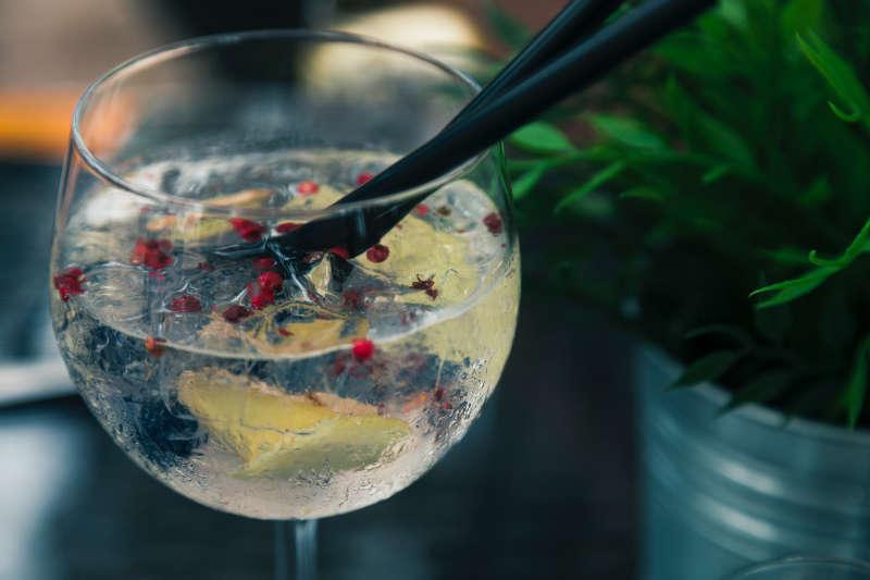 Gin Tonic preparado