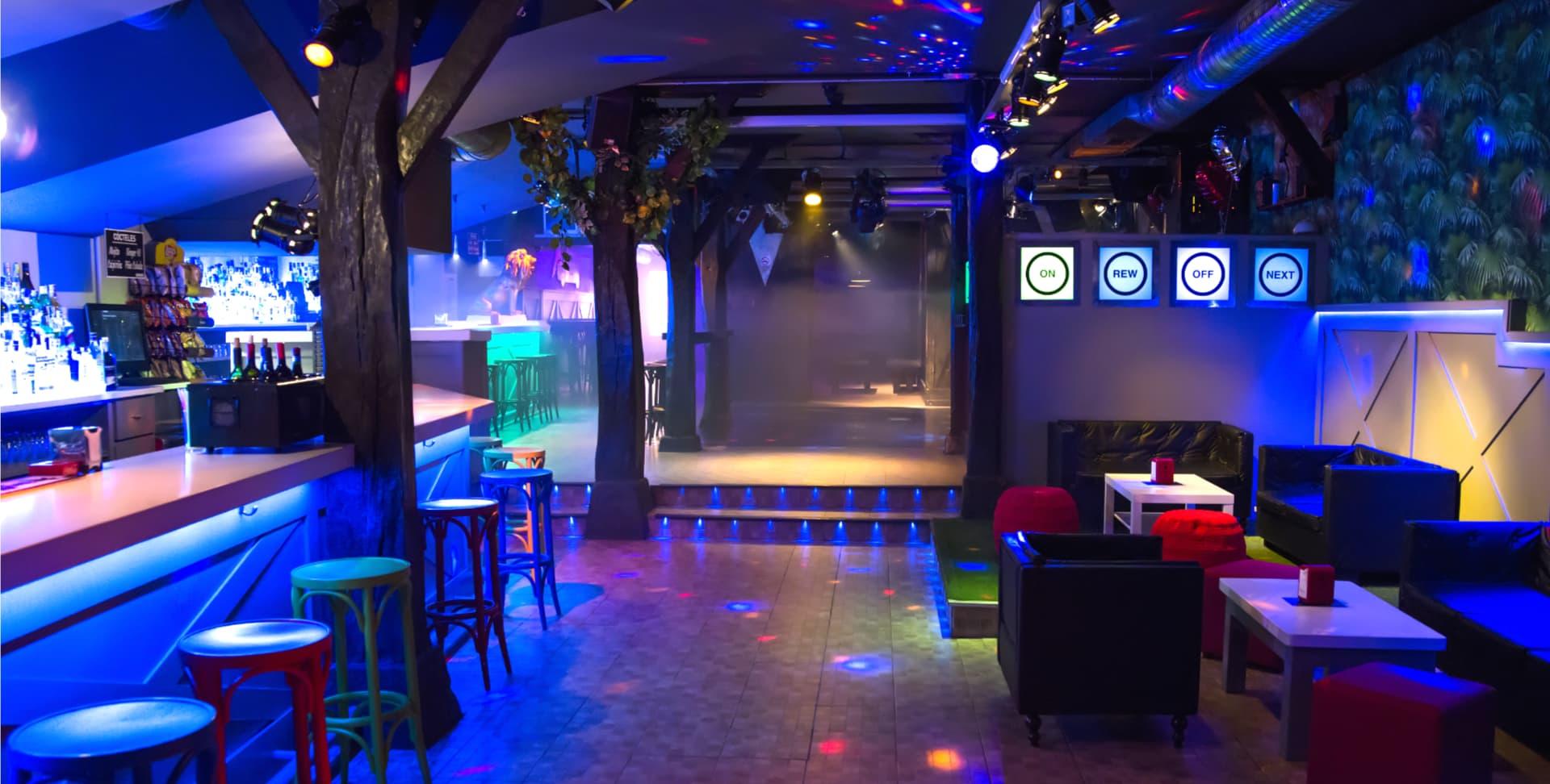 Vista entrada Discoteca Safari - Castro Urdiales