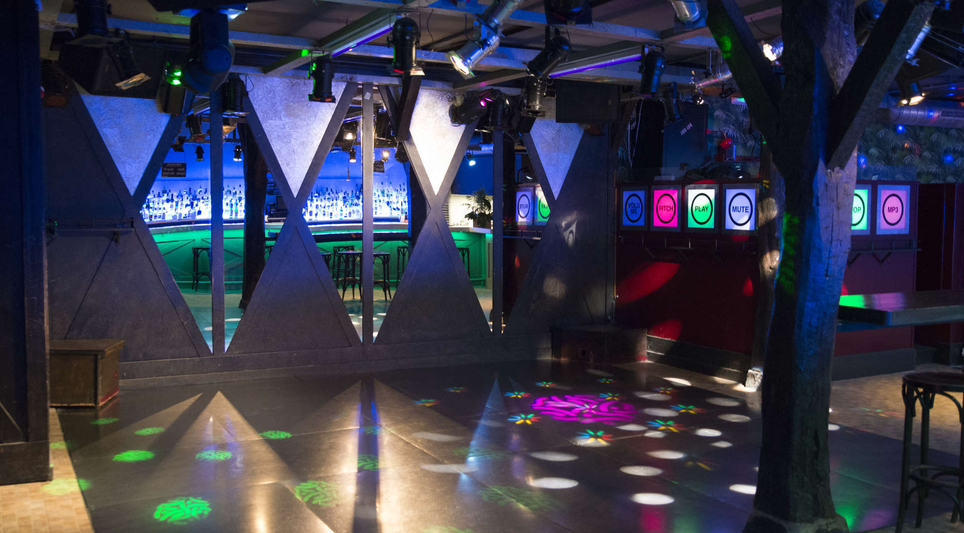 Pista de baile Discoteca Safari - Castro Urdiales
